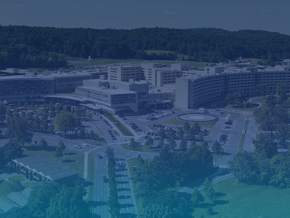 Aerial view of the Penn State Hershey Medical Center