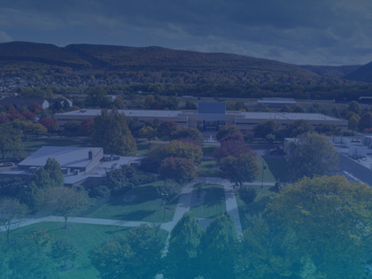 Aerial Photo of Pennsylvania College of Technology